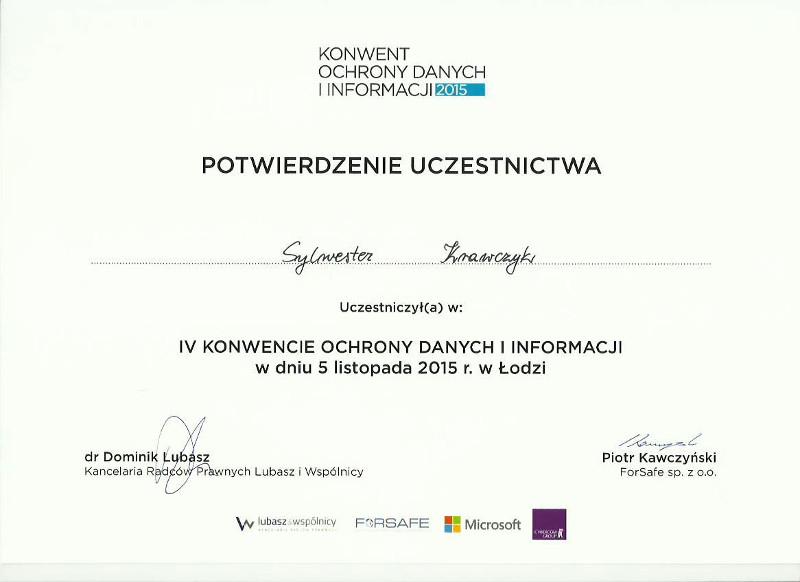 Konwent Ochrony Danych Informacji